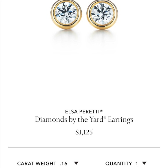 4b0268857 Tiffany & Co. Jewelry | Tiffany Elsa Peretti Yellow Gold Diamond ...